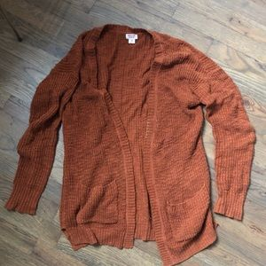 Mossimo open front cardigan sweater xs